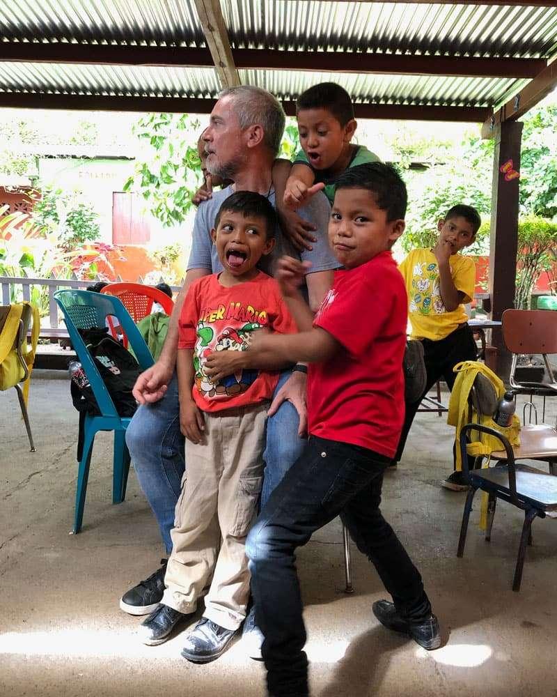 Voluntariado Nicaragua - Voluntario Ninos
